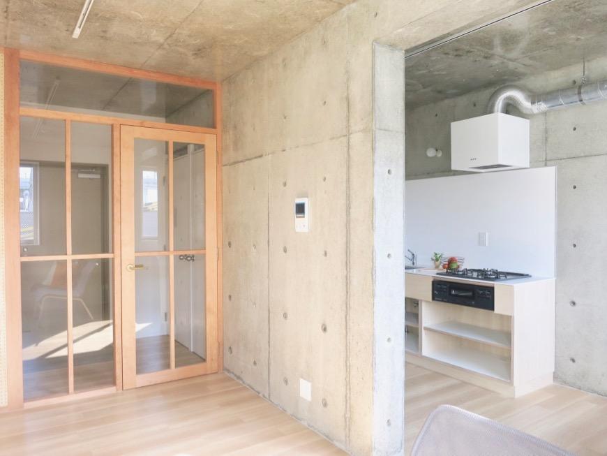 白壁ふたば荘 Ctype G号室 素材を生かした自由な暮らし。