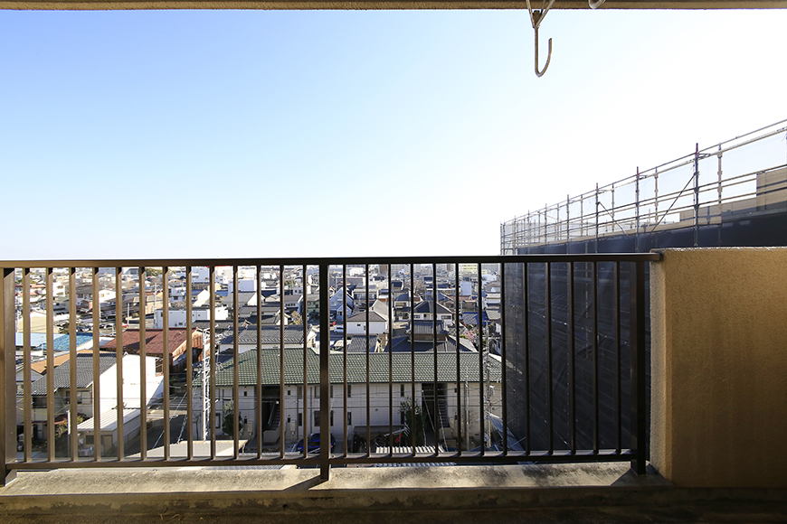 【シャンブルナルカワ】7A号室_バルコニーからの眺望_MG_1160