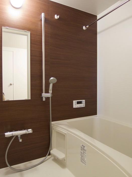 白壁ふたば荘 Atype/Ctype 共通サニタリールーム バスルーム。