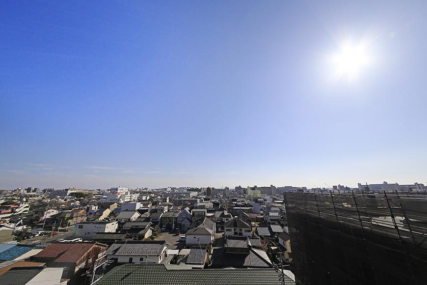 【シャンブルナルカワ】8A号室_ベランダ_眺望_MG_0783
