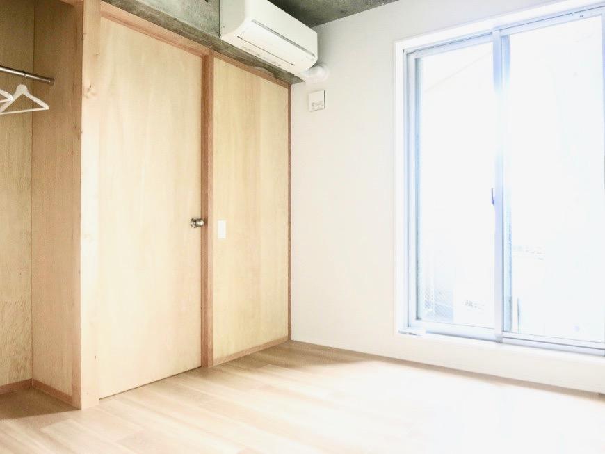 白壁ふたば荘 Ctype G号室 居室は静かなプライベート空間。