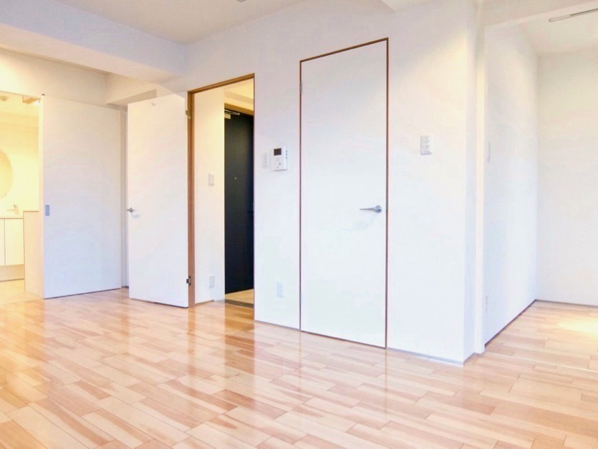 Room: N) AZUR JOSAI 4B  11帖のLDK 扉の木枠がとってもお洒落なお部屋。8