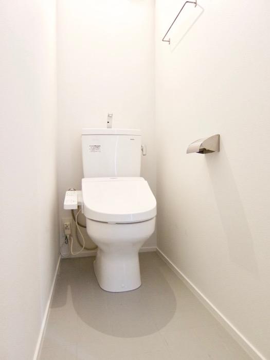 白壁ふたば荘 Btype/Dtype 共通 トイレデザイン