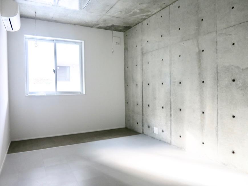 白壁ふたば荘  Btype B号室 室内土間が新鮮な隠れ家空間。