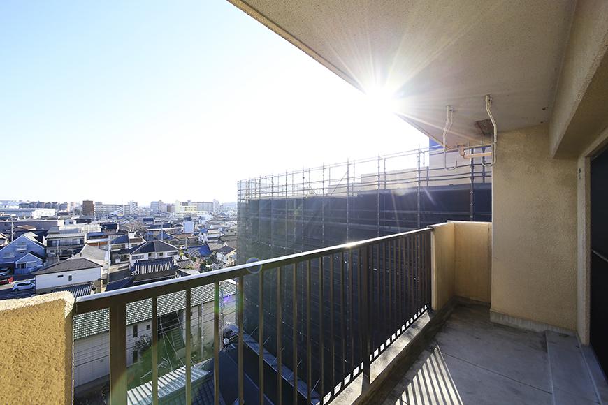 【シャンブルナルカワ】7A号室_バルコニー・眺望_MG_1172