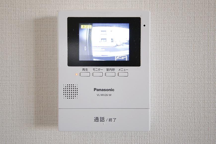 【ガレージハウスCUBE】B2_2階_TVモニタ付インターフォン_MG_0968