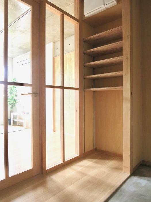 白壁ふたば荘 Ctype G号室 和風&洋風の玄関周り。