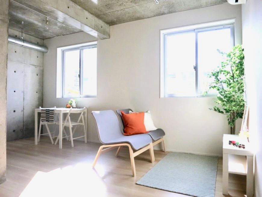 白壁ふたば荘 Ctype G号室 ナチュラル&モダン&斬新な空間。