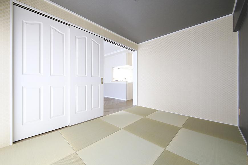 【キャッスル東栄】B棟_302号室_和室_可動式のドア_MG_2485