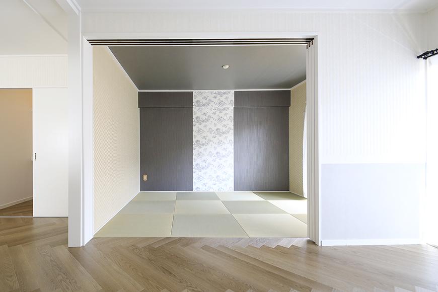 【キャッスル東栄】B棟_302号室_和室_可動式のドア_MG_2423