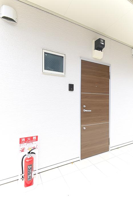 【ブランシェ・ア・ミュー】D号室_玄関ドア_MG_3131