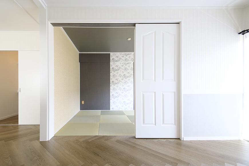 【キャッスル東栄】B棟_302号室_和室_可動式のドア_MG_2418