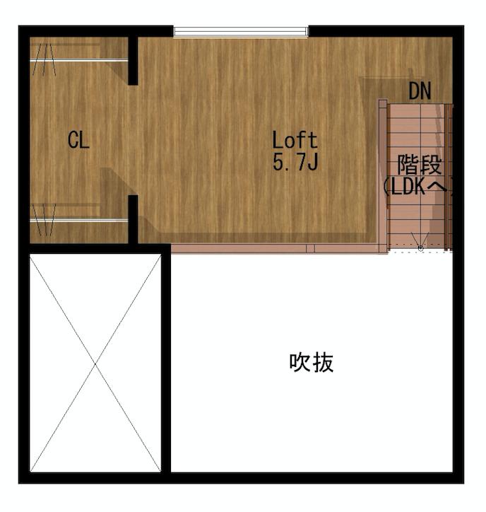 ESPESSO清須_2階_ロフト