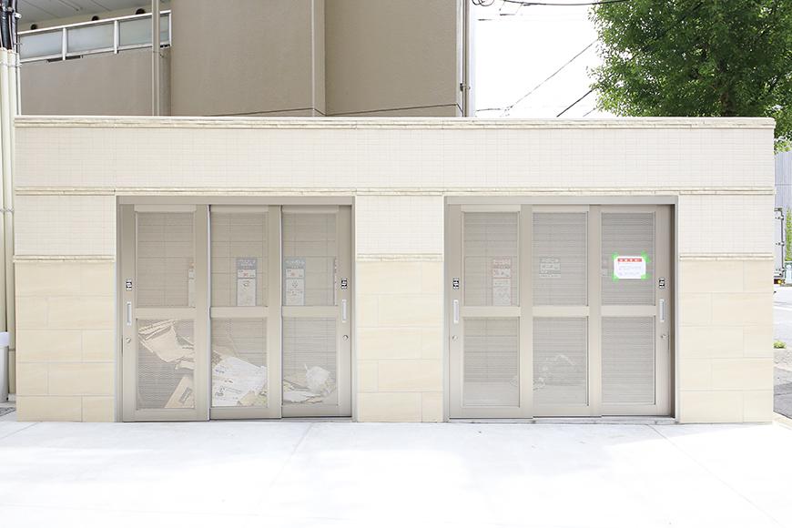 【ポルタニグラ大須】共有_敷地内ごみ置き場_MG_8555