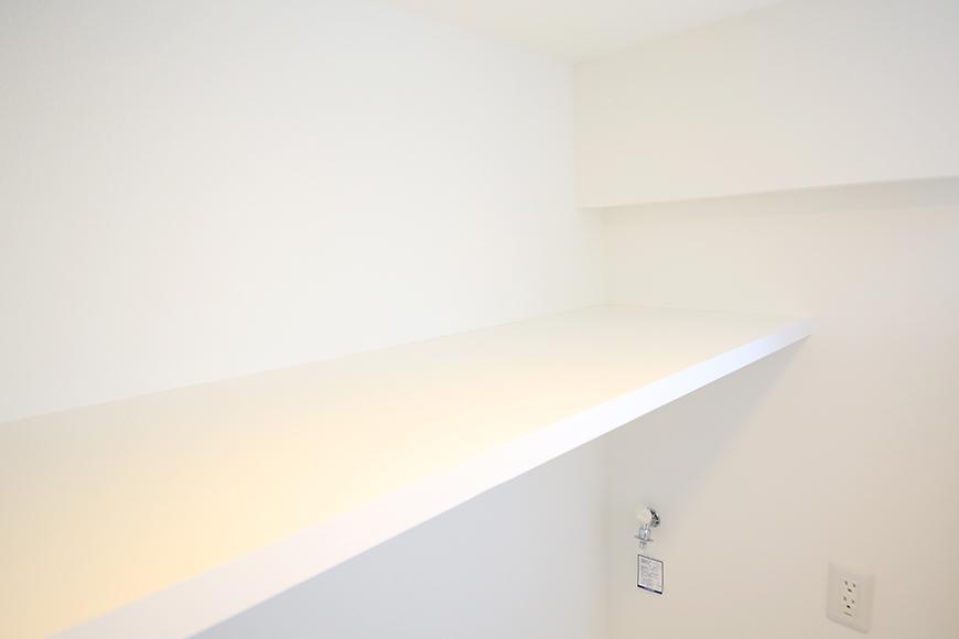 【ポルタニグラ】801号室_水周り_室内洗濯機置き場_頭上棚_MG_9202