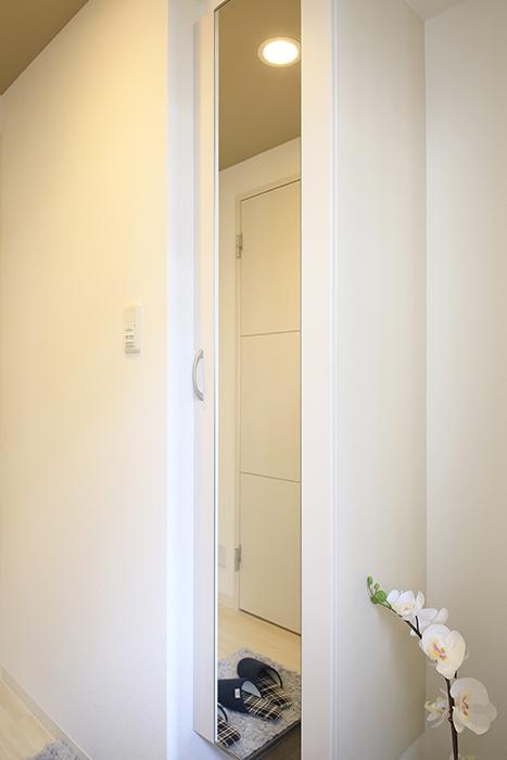 【ポルタニグラ】801号室_玄関周り_シューズボックス_MG_9097