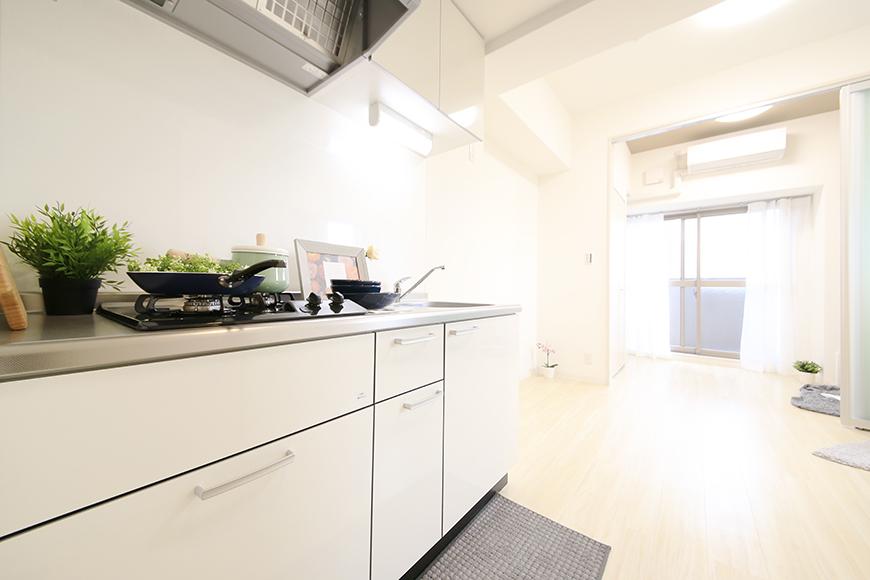 【ポルタニグラ】801号室_DK_キッチン_MG_9126