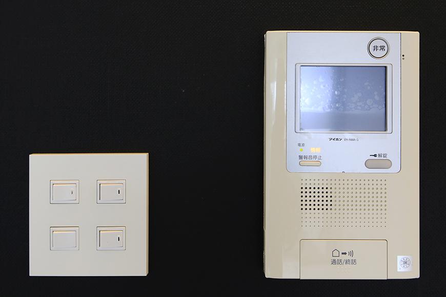 【FLATS GAZERY】403号室_TVモニタ付インターフォン_MG_9188