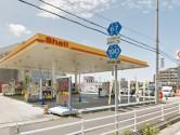 【J-Style枇杷島B棟】周辺環境_昭和シェル石油_セルフびわじま駅前SS