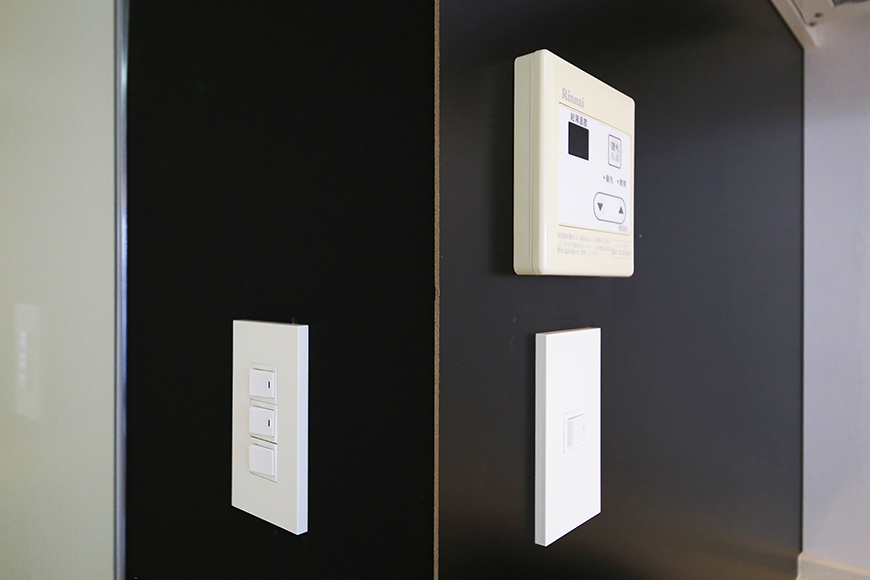 【FLATS GAZERY】309号室_キッチン周り_コントロールパネル_MG_9683