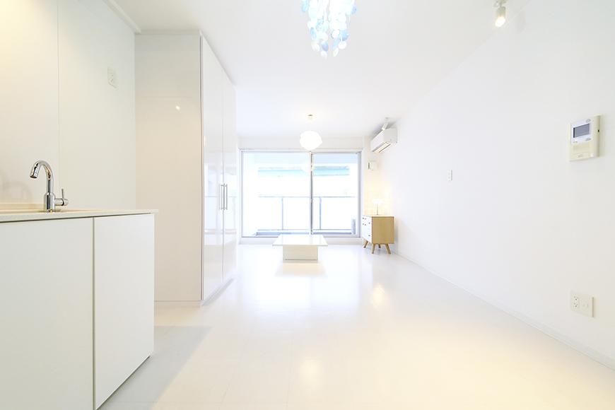 【FLATS GAZERY】309号室_キッチン・リビングスペース_MG_9703