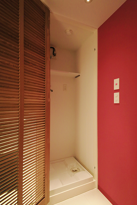 【FLATS GAZERY】307号室_サニタリールーム(水周り)_室内洗濯機置き場_MG_9342