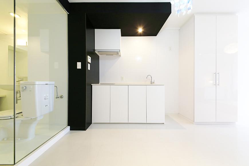 【FLATS GAZERY】309号室_キッチン周り・リビングスペース_MG_9668