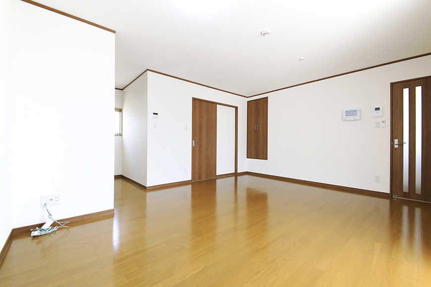 【J-Style枇杷島B棟】F号室_リビング_全景_MG_4115