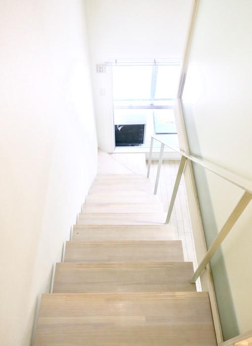 階段の風景。MARUNOUCHI SQUARE (丸の内スクエア)1