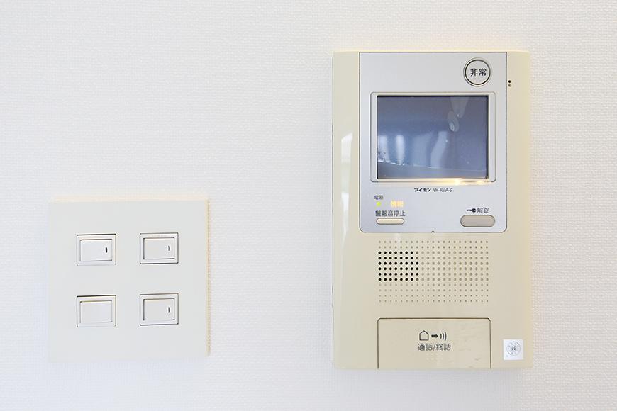 【FLATS GAZERY】503号室_セキュリティ_TVモニタ付インターフォン_MG_8833