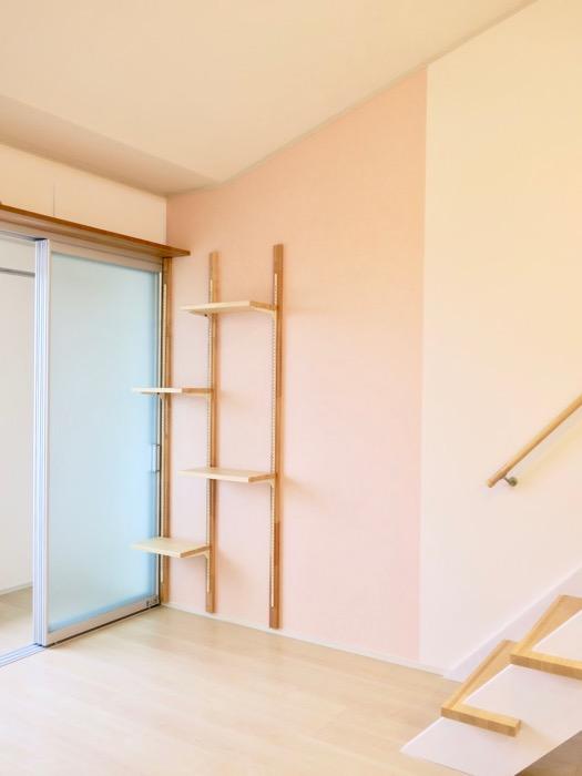その他のカラーのお部屋。ピンク&ブルー。【Le Cat】猫の為の猫専用賃貸住宅。0