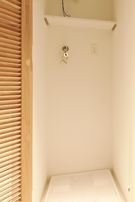 【FLATS GAZERY】503号室_サニタリールーム(水周り)_室内洗濯機置き場_MG_8682