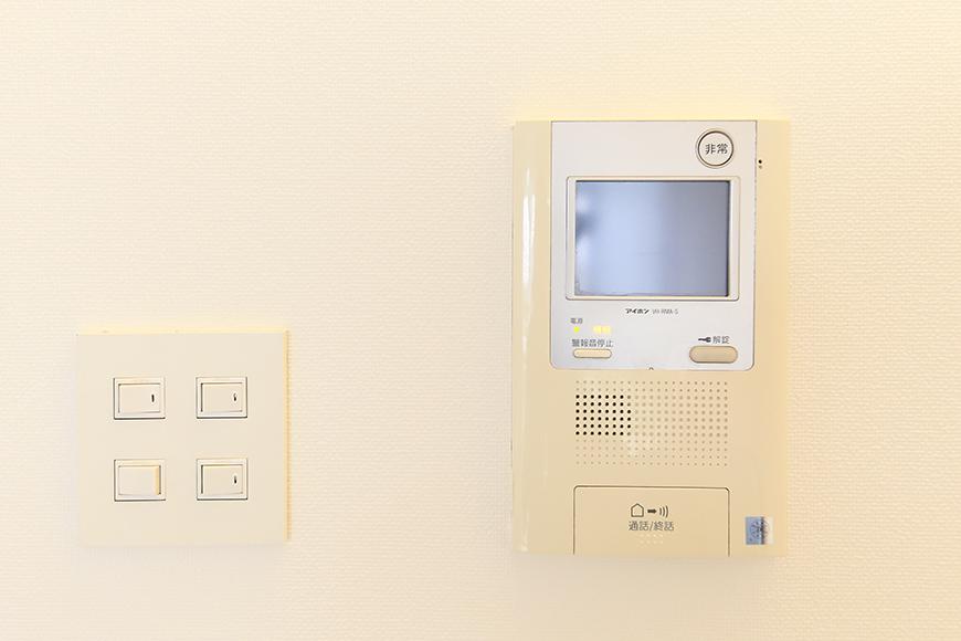 【FLATS GAZERY】307号室_TVモニタ付インターフォン_MG_9503