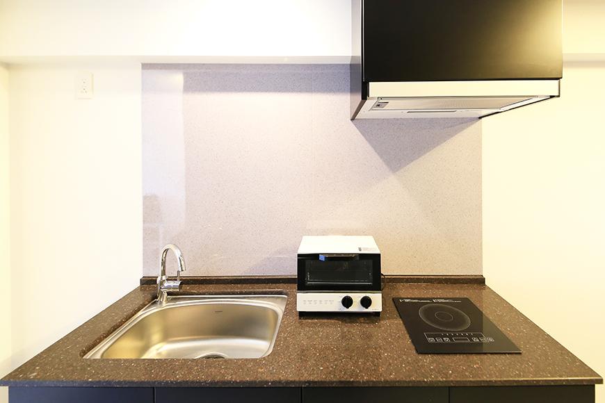 【FLATS GAZERY】307号室_キッチン全景_MG_9391