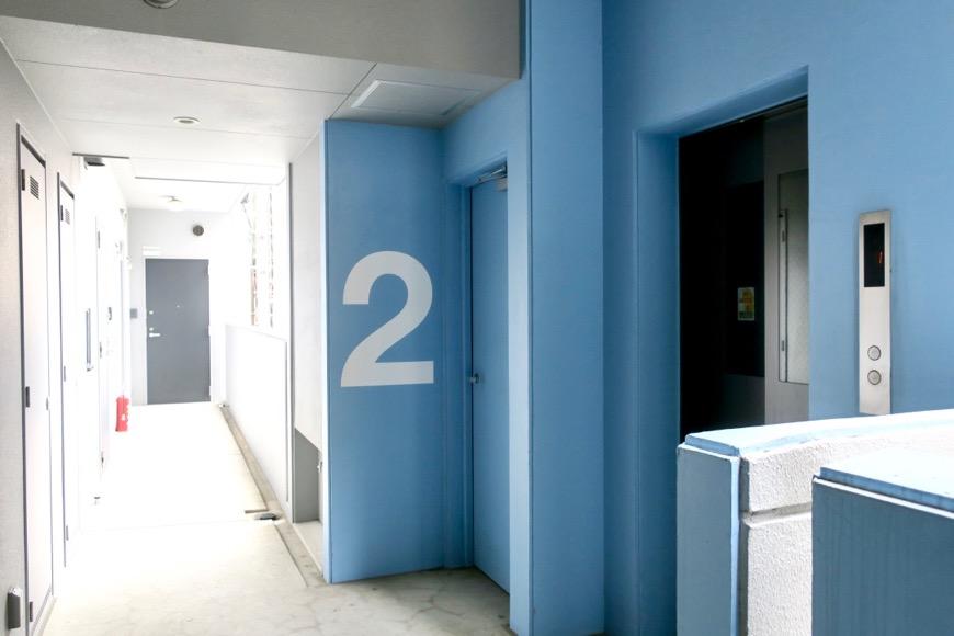 外観。2F通路。N APARTMENT (N アパートメント)1