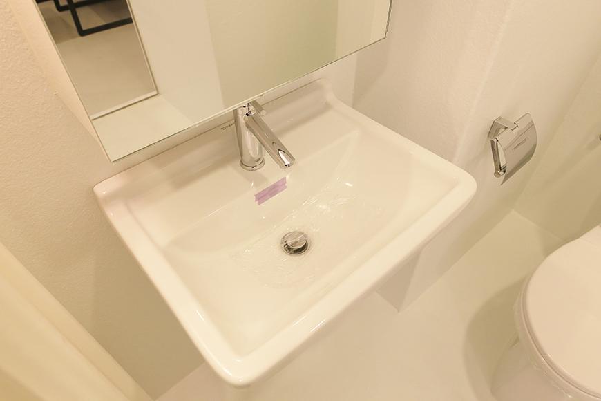 【FLATS GAZERY】403号室_サニタリールーム(水周り)_独立洗面台_MG_9003