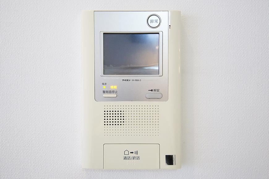 【FLATS GAZERY】309号室_TVモニタ付インターフォン_MG_9716