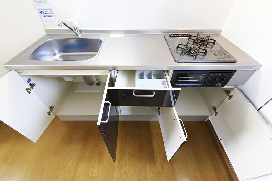 【J-Style枇杷島B棟】F号室_キッチン_足もとの収納_MG_4166