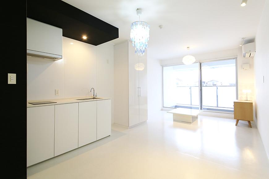 【FLATS GAZERY】309号室_キッチン周り・リビングスペース_MG_9664