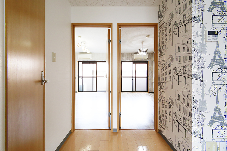 【NEXTAGE B】205号室_洋室へのドア_MG_0508