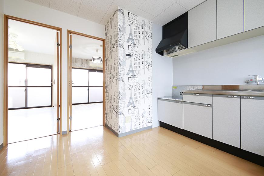 【NEXTAGE B】205号室_洋室へのドア_MG_0515