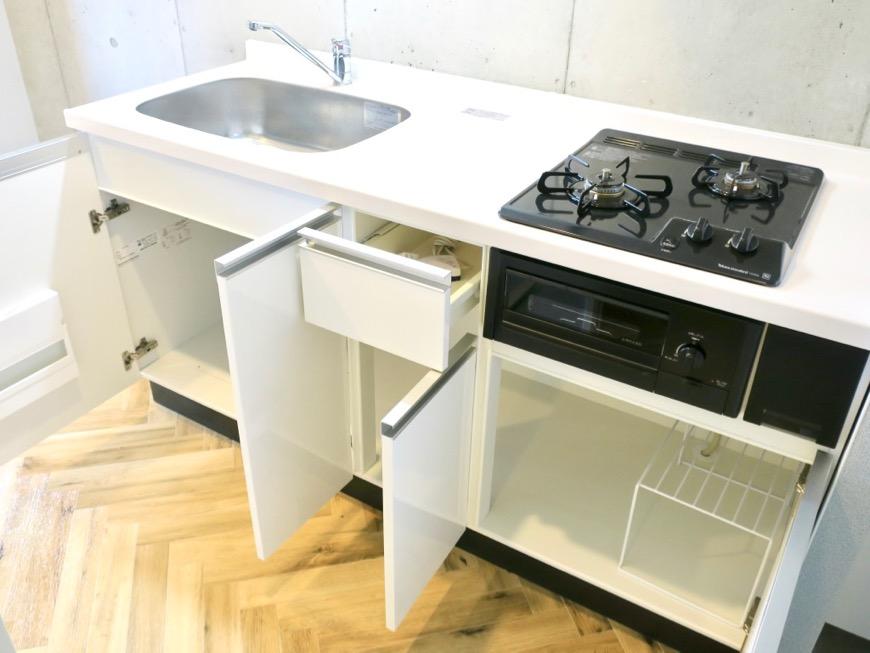 キッチンスペース。キッチン台。MAISON APADE(メゾン スペード)0