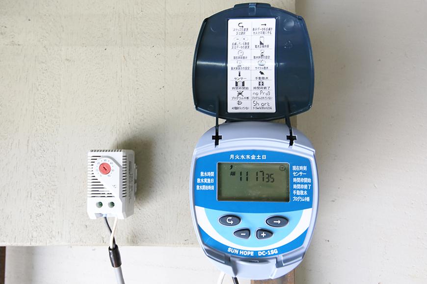 【バイクガレージNAGOYA】二階_屋上散水機能(クーリングシステム)_MG_7538