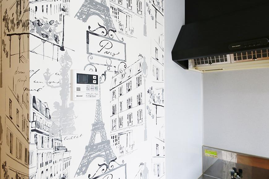 【NEXTAGE B】205号室_キッチン周り_壁紙_MG_0424