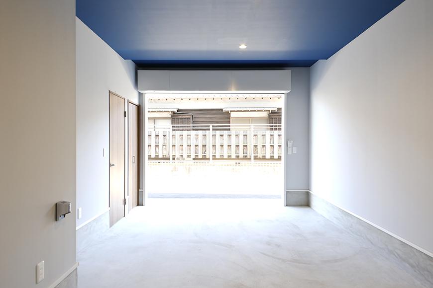 【Garage Villa Yonezu】105号室_ガレージ_全景_MG_0903