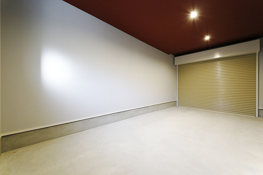 【Garage Villa Yonezu】101号室_ガレージ_MG_1234
