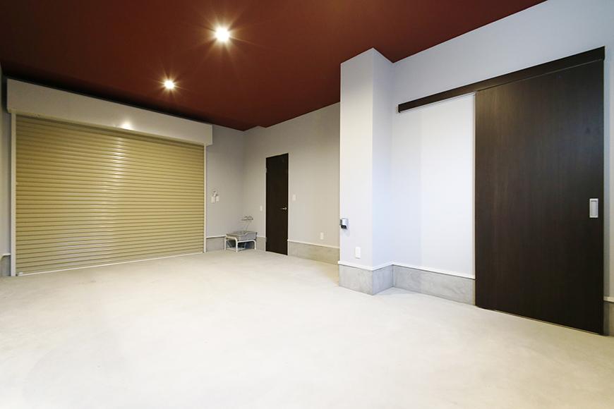 【Garage Villa Yonezu】101号室_ガレージ_MG_1236