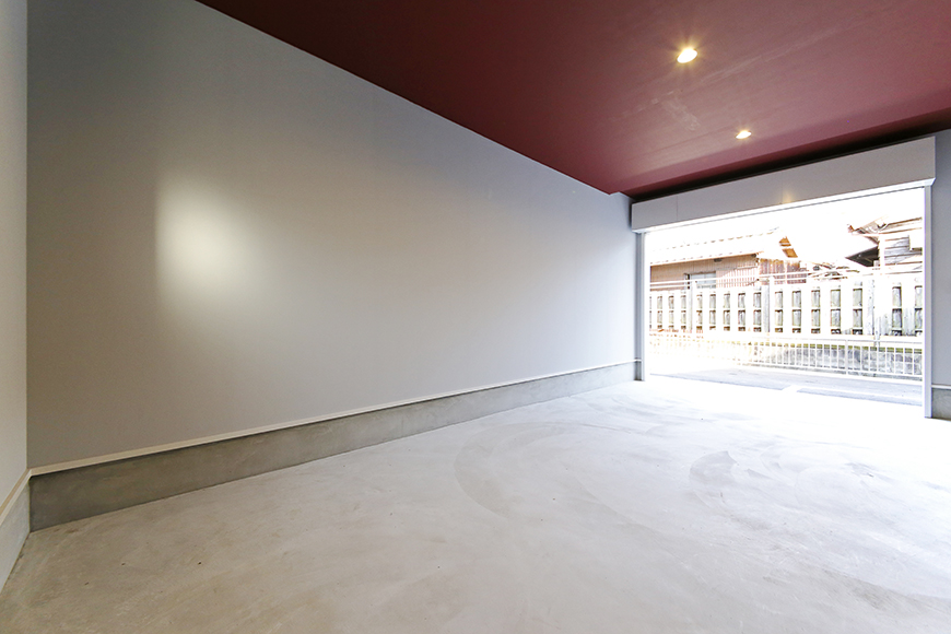 【Garage Villa Yonezu】101号室_ガレージ_MG_1257