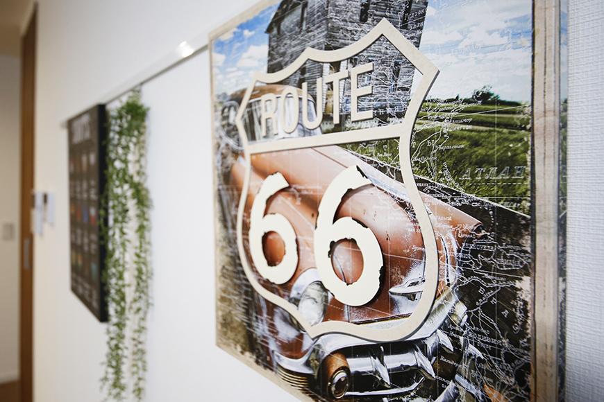【Garage Villa Yonezu】105号室_洋室の壁にはピクチャーレール_MG_1005