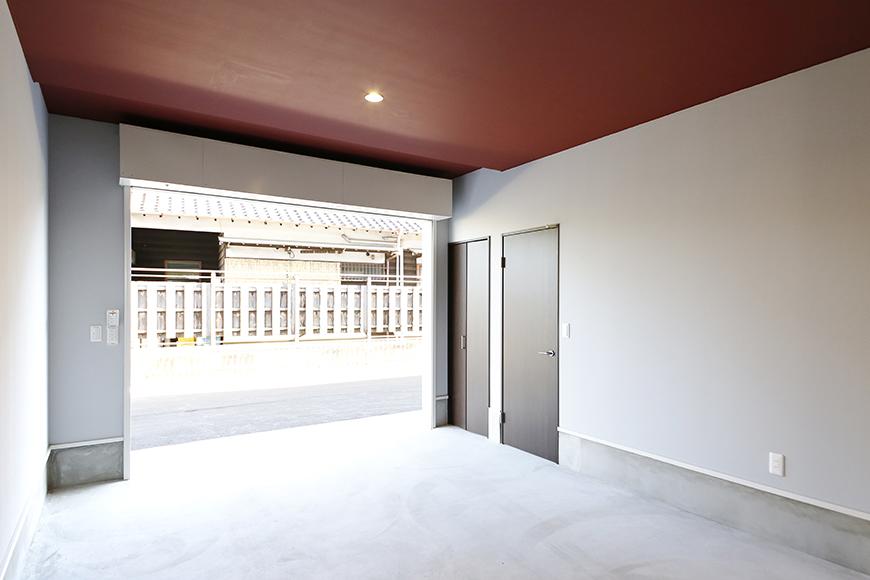 【Garage Villa Yonezu】107号室_ガレージ_全景_MG_1399